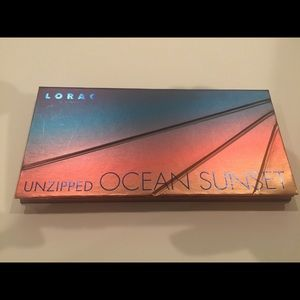 lorac unzipped ocean sunset palette